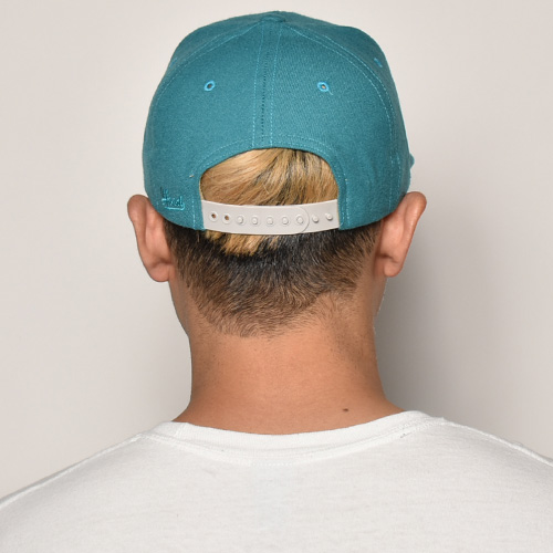 Hood Hat USA/Snap Back Cap/Malibu(フッド キャップ)エメラルドグリーン [a-3828]