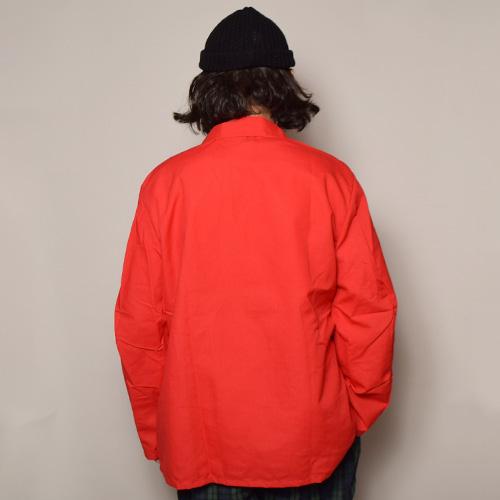 Red Kap×US/Lapeled Jacket(レッドキャップ×アス ラペルドジャケット)レッド [a-3642]