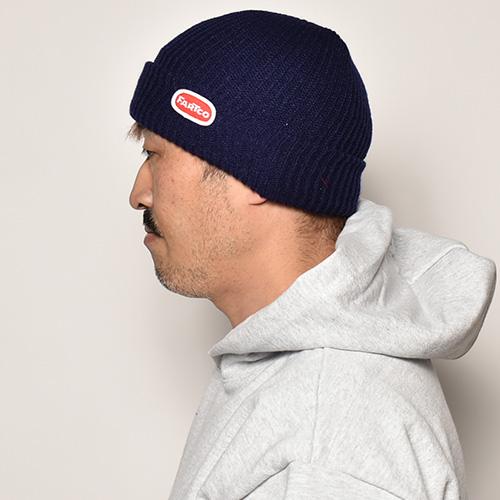 Fartco Inc./Blob Knit Beanie(ファートコー ニットキャップ)ネイビー [a-4543]