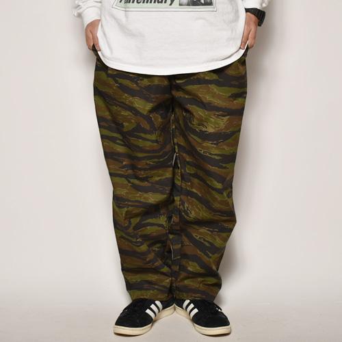 Tiger Stripe Camo Wide Easy Pants(タイガーストライプカモ ワイドイージーパンツ)タイガーストライプカモ [a-4126]
