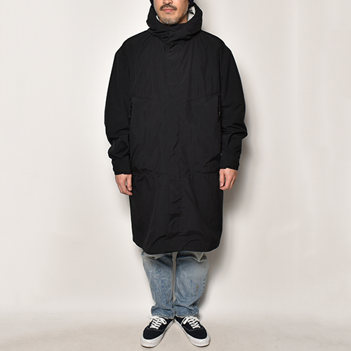 Comfy Outdoor Garment/All Time Coat(コンフィー ナイロンスプリングコート)ブラック [a-4634]