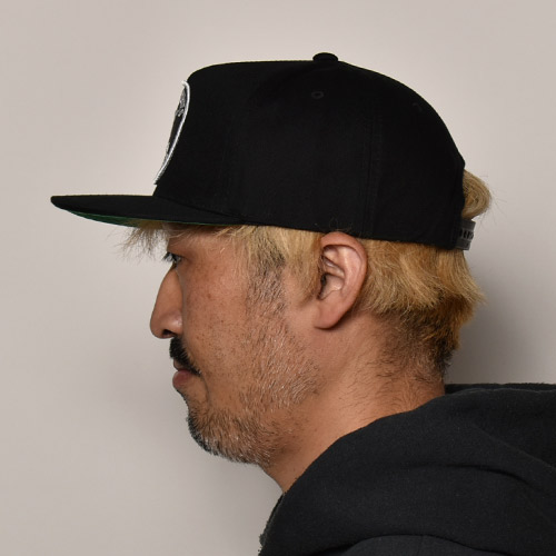 Cycle Zombies/California Snapback Cap(サイクルゾンビーズ キャップ)ブラック [a-4153]