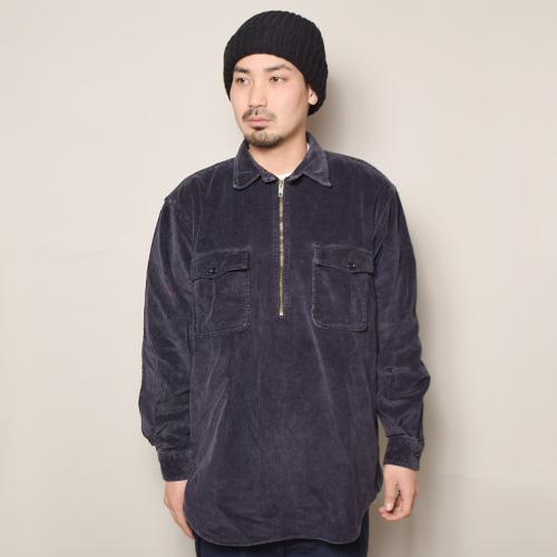 ・Polo Ralph Lauren/L/S Corduroy Shirt(ラルフローレン コーデュロイシャツ)ネイビー/サイズM [z-2739]