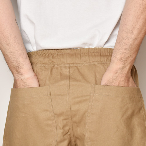 Chino Cloth Easy Short Pants(チノイージーショートパンツ)ベージュ [a-3868]