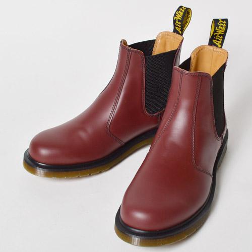 Dr.Martens/2976 Chelsea Boots(ドクターマーチン サイドゴアブーツ)チェリーレッド [n-8824]