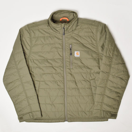 Carhartt/Insulated Gilliam Jacket(カーハート ナイロンジャケット)オリーブ [n-9554]