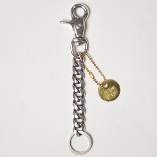 """US Exclusive/""""Simple & Plain"""" Heavy Gauge Key Chain/Long(アス ヘビーゲージキーチェーン)シルバー [n-9692]"""