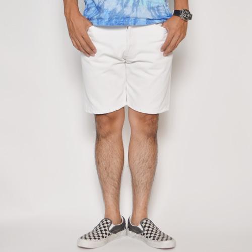 ・Levi's×US/501 White Denim Cut Off Shorts(リーバイス×アス デニムカットオフショーツ)ホワイト [u-8748]