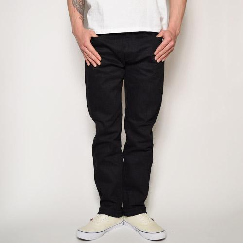 Forty Fine Clothing/MODEL S(フォーティファインクロージング スキニーデニムパンツ)リンスドブラック [a-0822]