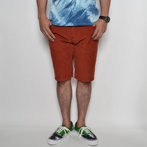 Levi's×US/511 Corduroy Skinny Shorts(リーバイス×アス 511 コーデュロイスキニーショーツ) レッドブラウン [n-8248]