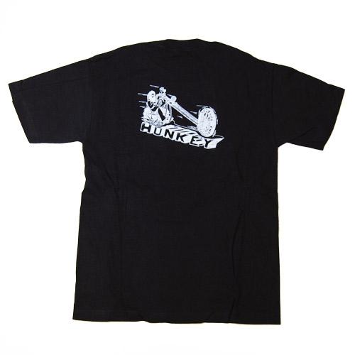 Bandit Brand×WTF×US/Hells Angels Artwork Honkey T-shirt(バンディットブランド×ダブルティーエフ×アス Tシャツ)ブラック [n-5424]