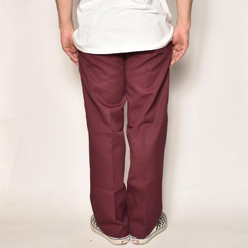 Dickies/874 Work Pants(ディッキーズ ワークパンツ)マルーン [a-4706]