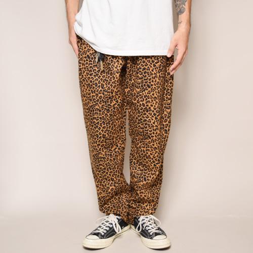 Leopard Printed Easy Pants(レオパードイージパンツ)レオパード [a-3339]