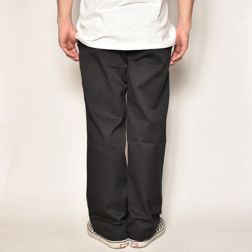 Dickies/874 Work Pants(ディッキーズ ワークパンツ)リンスドブラック [a-4707]