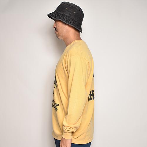 Bow Wow/Yoko L/S T-Shirt(バウワウ Tシャツ)マスタード [a-5270]