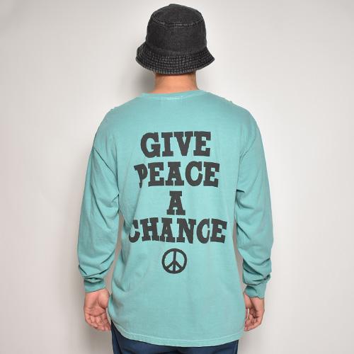 Bow Wow/Yoko L/S T-Shirt(バウワウ Tシャツ)ミントグリーン [a-5271]