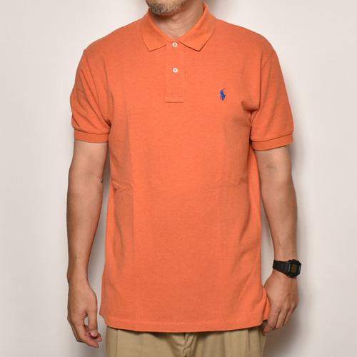 ・Polo Ralph Lauren/Polo Shirt(ラルフローレン ポロシャツ)オレンジ/サイズM [z-3830]