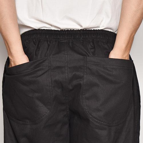 Chino Cloth Easy Pants(チノクロスイージパンツ)ブラック [a-5272]