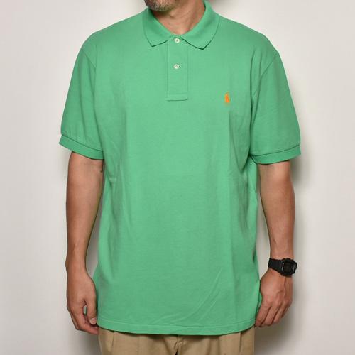 ・Polo Ralph Lauren/Polo Shirt(ラルフローレン ポロシャツ)グリーン/サイズL [z-3831]