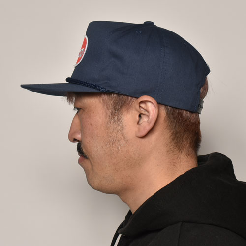 Fartco Inc./Blob Snapback Cap(ファートコー キャップ)ネイビー [a-3990]
