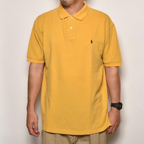 ・Polo Ralph Lauren/Polo Shirt(ラルフローレン ポロシャツ)イエロー/サイズL [z-3832]
