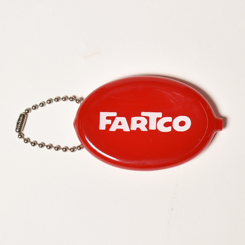 Fartco Inc./Taco Money Coin Pouch(ファートコー コインケース)レッド [a-3991]