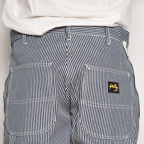 Stan Ray/Hickory Stripe Painter Pants(スタンレイ ペインターパンツ)ホワイト×ネイビー [a-5275]