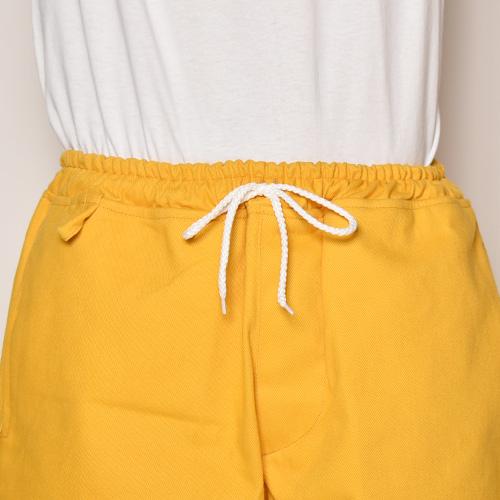 Color Canvas Easy Short Pants(キャンバスイージーショートパンツ)マスタード [a-3939]