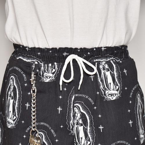 Guadalupe Easy Short Pants(グアダルーペ イージーショーツ)ブラック [a-4904]