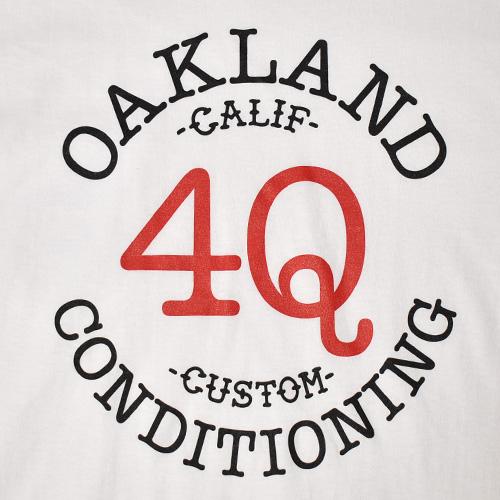 4Q Conditioning×US/L/S Logo Pocket T-Shirt(4Q×アス ポケットTシャツ)ホワイト [a-5278]