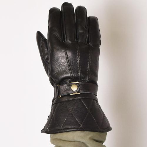 Powwow/The Gauntlet Type03 Short(パウワウ レザーグローブ)ブラック [a-0525]