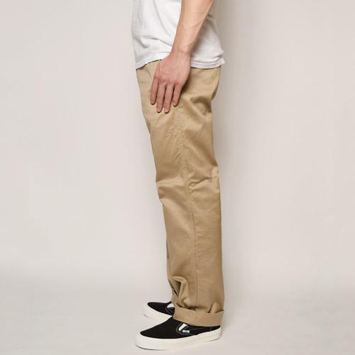 Forty Fine Clothing/40 KHAKI(フォーティファインクロージング チノパンツ)カーキ [n-6107]