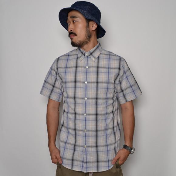 J.Crew/Washed B.D. Shirt(ジェイクルー ボタンダウンシャツ)グレープラッドチェック [n-6924]