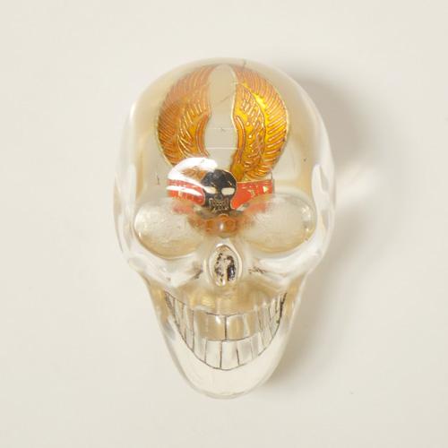 The Spooky Skull Shift Knob×Vintage Pins(スカルシフトノブ×ヴィンテージピンズ) [a-4710]