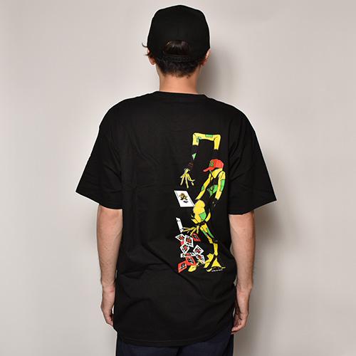 Powell Peralta/Ray Barbee Rag Doll T-Shirt(パウエル Tシャツ)ブラック [a-3757]