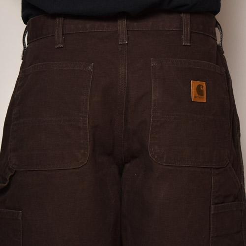 ・Carhartt/Duck Painter Shorts(カーハート ペインターショーツ)ブラウン/サイズW32 [z-4319]