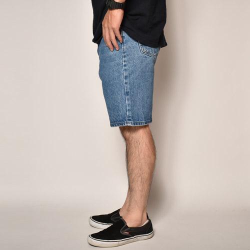 ・Carhartt/Denim 5Pocket Shorts(カーハート デニムショーツ)インディゴ/サイズW32 [z-4321]
