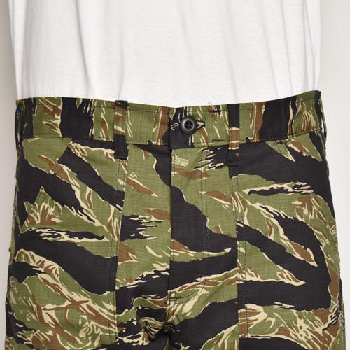 Stan Ray/4Pocket Fatigue Short Pants(スタンレイ ファティーグショートパンツ)タイガーストライプカモ [a-5169]