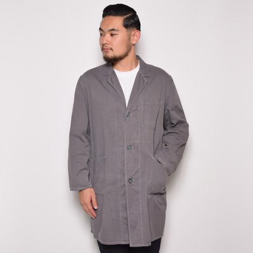 ・Vintage Europian Shop Coat(ヴィンテージ ショップコート)グレー/サイズEU48 [u-8848]