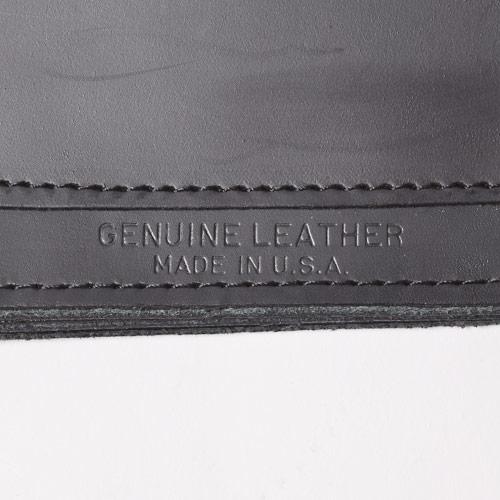 415 Clothing/Leather Trucker Chain Wallet/Medium(415クロージング チェーンレザーウォレット)ブラック [a-0714]