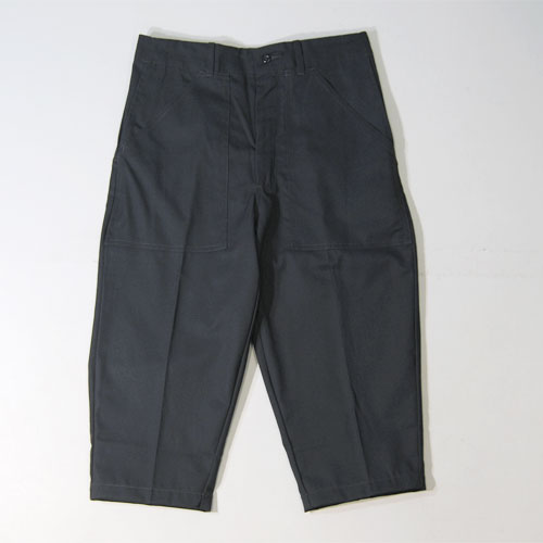 Universal Overall×US/3 Quarter Baker Pants(ユニバーサルオーバーオール×アス 7分ベイカーパンツ)チャコール [n-4310]