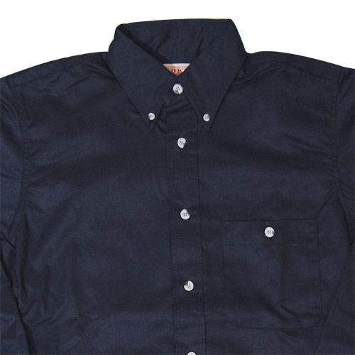 Red Kap/Twill Button Down Shirt(レッドキャップ ツイルボタンダウンシャツ)ネイビー [n-3048]
