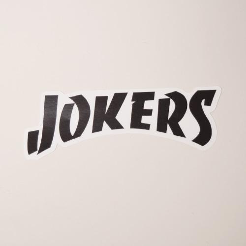 Joker's Skate Shop/Thrasher Logo Sticker(ジョーカーズスケートショップ ステッカー)[a-3471]