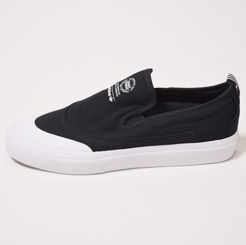 Adidas Skateboarding/Matchcourt Slip(アディダススケート マッチコートスリップ)ブラック×ホワイト [a-2252]