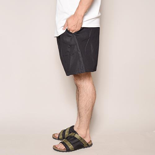 Cobra Apprel/Nylon Short Pants(コブラアパレル ナイロンショーツ)ブラック [a-3169]