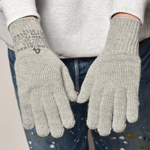 U.S. Military/G.I. Wool Liner Gloves(USミリタリー グローブ)グレー [a-4550]