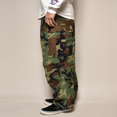 ・US Army/M-65 Field Pants(USアーミー M-65フィールドパンツ)ウッドランドカモ/サイズM [z-3359]