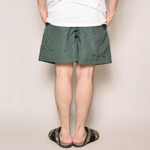 Cobra Apprel/Nylon Short Pants(コブラアパレル ナイロンショーツ)グリーン [a-3172]