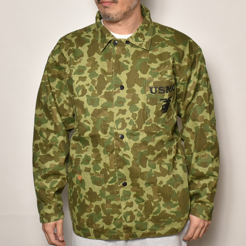 US Marine Corps/Pacific Camouflage Jacket/Reproduction(USマリーンコープス パシフィックカモジャケット)ダックハンターカモ [a-4683]