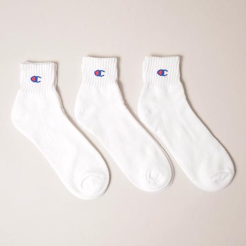 Champion/Quarter Length 3P Socks(チャンピオン ソックス) [a-3174]